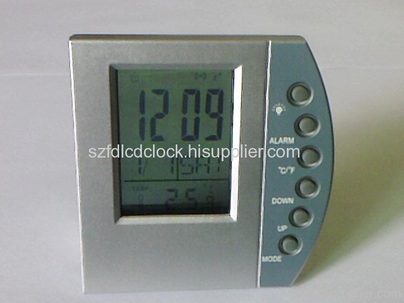 Transparent LCD Clock