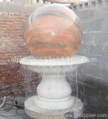water feature fountain ball