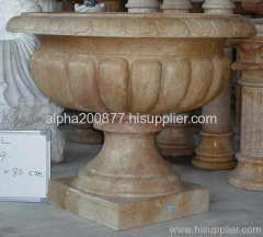 stone flowerpots marble urn