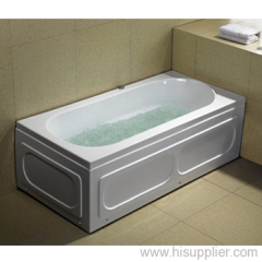 Bubble Bathtub with Water Pump