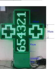 led cross sign
