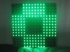 led cross display board