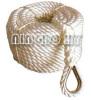 3 Strand Nylon Fiber Rope With Loops&Thimble