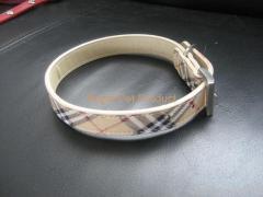 dog burberry collars