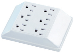 an american 6-outlet adapter
