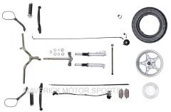 YY50QT-6 steering parts