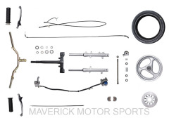 YY50QT-12 steering parts