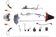 50cc wiring parts