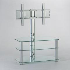 Clear Glass TV/AV Stand