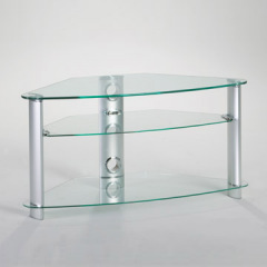 Clear Glass Lcd Stand