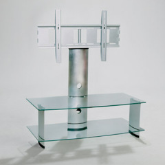 glass tv table stand