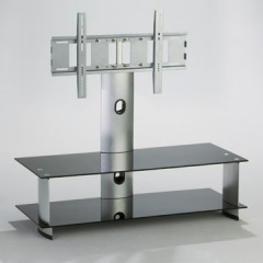 PDP TV glass stand for 50 inch screen