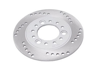 scooter disc plate