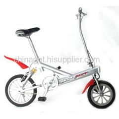lightest E push bike