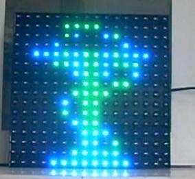 bicolor cross display
