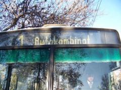 bus guideboard