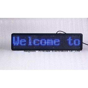 led  text display