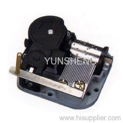 Edge Stopper Clockwork Mechanical Muisc Box 18 Note Musical Mechanism