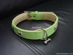 Leather Pets  Collars