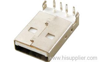 USB A 4pin plug