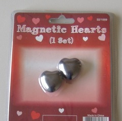 heart shape magnetic stones