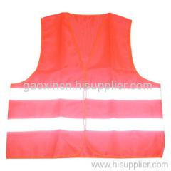 reflective roadway safety vest