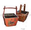 Tibetan antique furniture basket