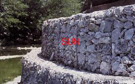 reinforced gabion