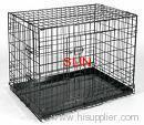 folding dog cages