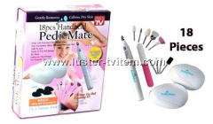 18PCS HANDHELD PEDI MATE