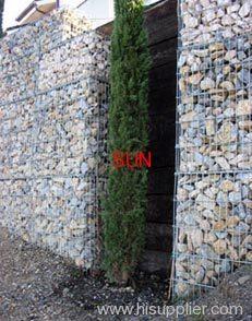 reinforced gabion wall