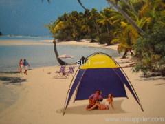 sand beach tents