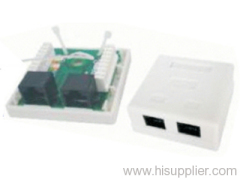 RJ45 telephone module box
