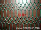 coated expanded metal fence