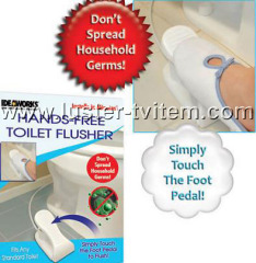 Hands Free Toilet Flusher