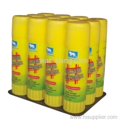 Glue Stick 36gr 12pk Shrink+Tray
