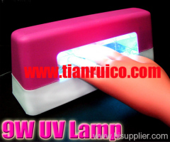 9w gel curing uv lamp