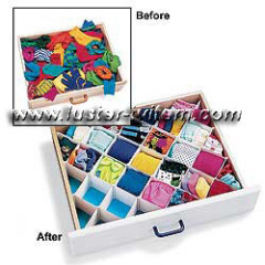 Diamon drawer organizer