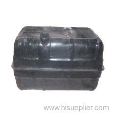 Black zinc plating storage tank
