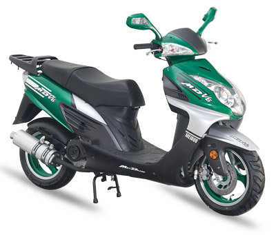 Gas Engine Scooters