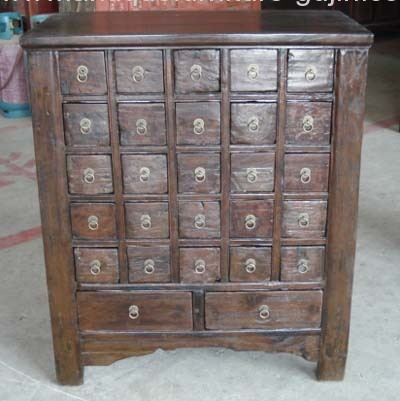 Amazing Chinese Antique Medicine Cabinet