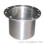 Cylindrical flange