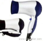 Foldable handle hair dryer