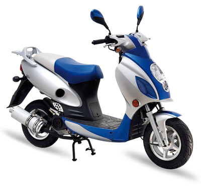 125cc petrol scooter