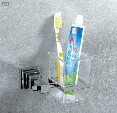 Tumbler Toothbrush Holder