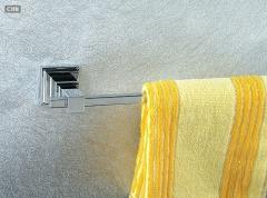 双人毛巾架