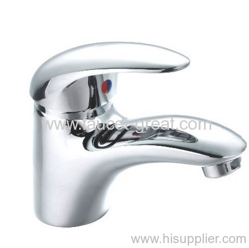 Bathroom lavatory faucet and tap