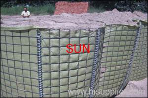 gabion barrier