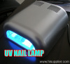 36W Nail uv lamp silver colour
