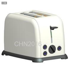 不锈钢机身烤面包机